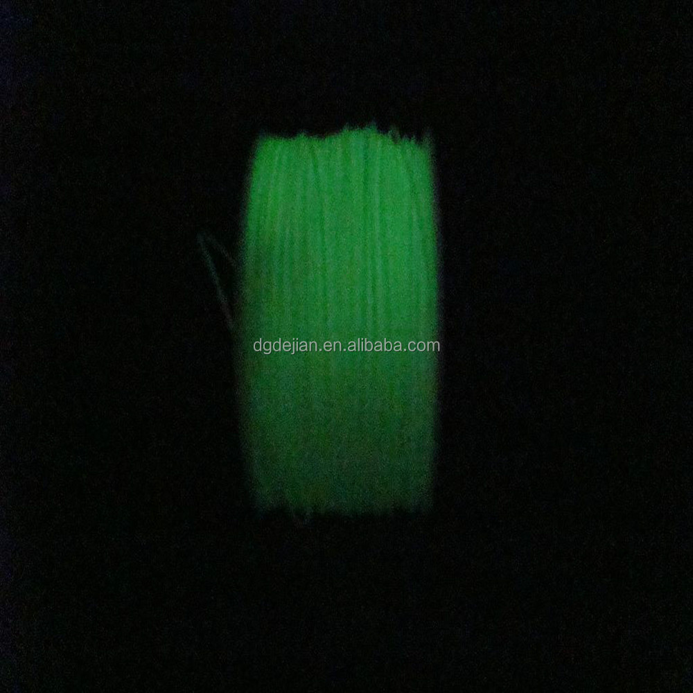 <strong>ABS</strong> 3D printer filament,3mm /1.75mm <strong>ABS</strong> -Glow In Dark Green,