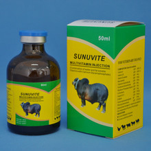 Hot sale veterinary generic drugs multivitamin injection with calcium for cattle