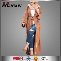 2017 New Designs Cardigan Muslim Women