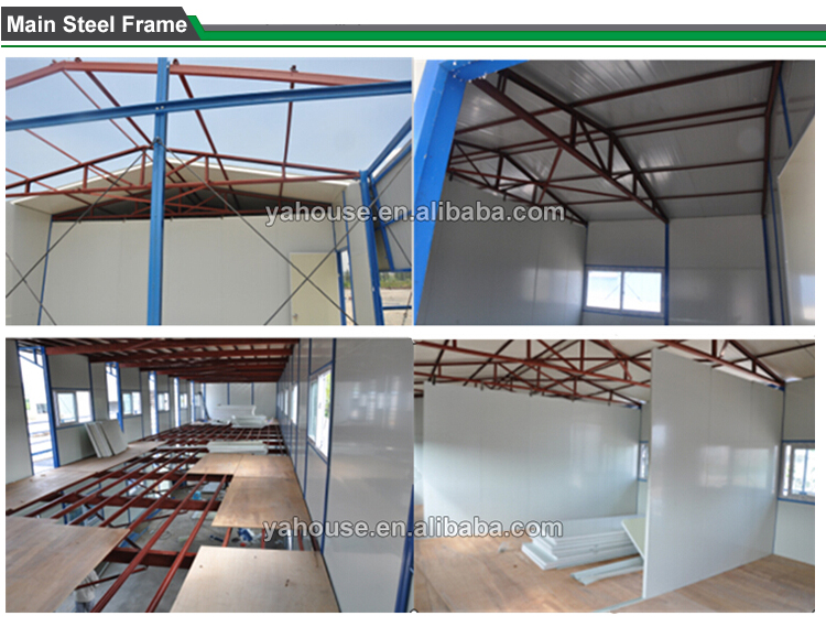 Hot Sale 2 Storey Prefabricated K House on construction site with low price