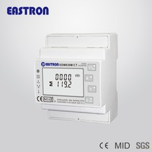 SDM630M CT,3 phase Smart DIN rail energy meter ,4 mounted ,modbus, CE APPROVED