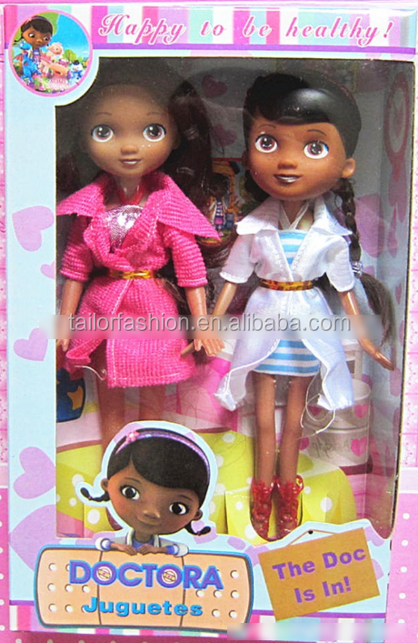 Wholesale Toy Doctor doll muffin Doc McStuffins Doctor doll two Gift Box 2 boxed