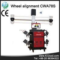 CWA78S 4 wheel alignment 3d with multi-language
