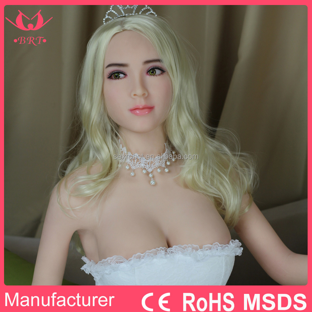 165CM Sexy Young Girl Blonde American Silicone Sex Doll for Men with MSDS CE ROHS