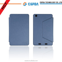 "Fast shipment 7.9"" tablet pc stand folio cover for Acer,for Acer Iconia A1-830 case with credit card slots design"