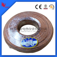2*1.5mm K type compensation cable with pvc/teflon/PFA/Fibergass insulation