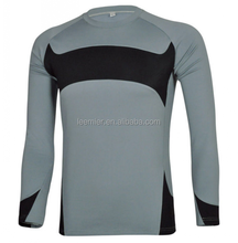 Wholesale Compression Wear Activewear Fitness T Shirt Rash Guards for Men
