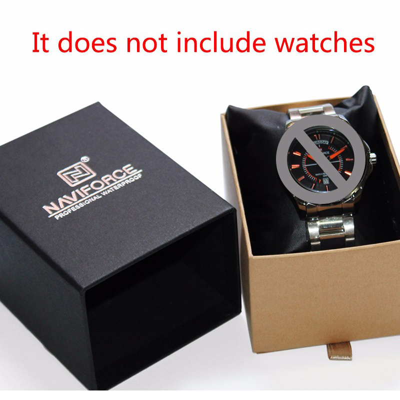 Luxury Brand Box for Watch Jewelry Organizer Watches Box NAVIFORCE Relogio Masculino Fashion Gift for Friend Watch box