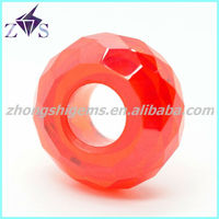 Shining Precious Orange CZ Loose Beads Wholesale Stone