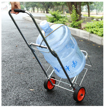 Stainless steel dolly transport trolley price of push folding aluminum moving hauling go beach carrying parts cart