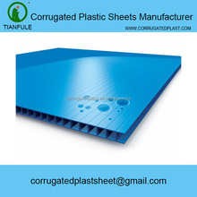 polypropylene pp ribbed plastic sheet