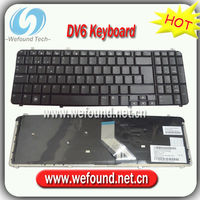 Laptop Keyboard For HP DV6 DV6-1000 Spanish layout,Notebook keyboard
