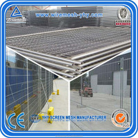 used outdoor fence temporary fence (Factory/Exporter)