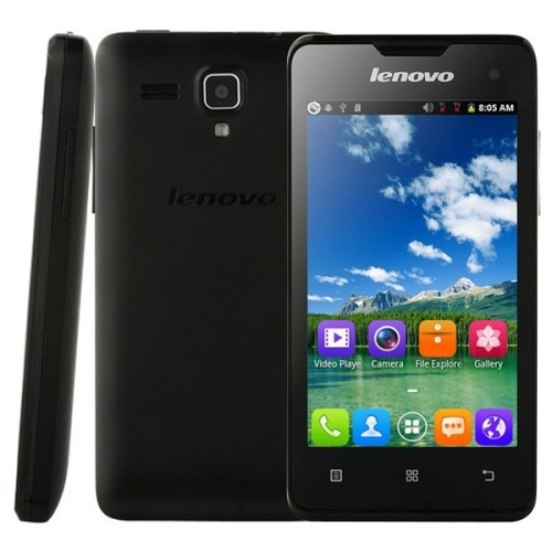Original Lenovo A396 4.0 inch 3G Android 2.3 Smart Phone, SC7730 Quad Core 1.2GHz, ROM: 512MB, WCDMA & GSM(Black)