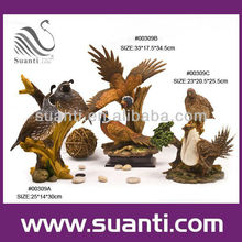 polyresin bald eagle sculptures artificial eagle sculpture