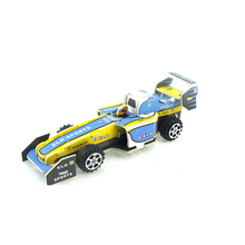New mini toys for puzzle 30 styles pull back F1 racing car with colorful sticker toy