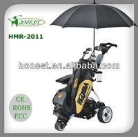 Used Digital Remote Electric Golf Cart Golf Trolley Golf Buggy HMR-2011
