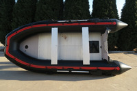 12'6'' Enjoysea new model black and red ASD-380 PVC or hypalon float pontoon for sale!