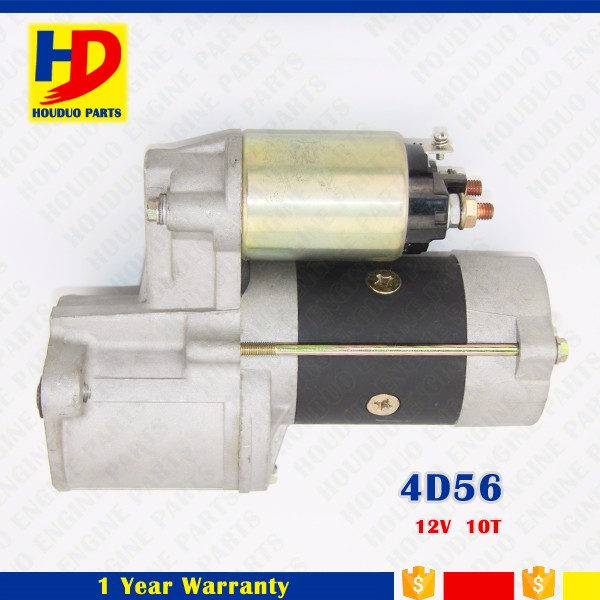 Diesel Engine Parts 4D56 Starter Motor 12V 10T
