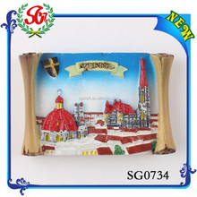 SG0734 Hot Sale City of Vienna Austria 3d Souvenir Fridge Magnet, Wholesale Souvenirs