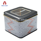 Nice-can clear window square usb tin box/citroen usb box/peugeot usb box