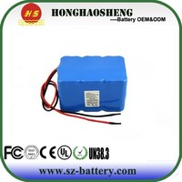 Rechargeable 18650 battery pack lithium iron phosphate battery pack 12V 10AH lifepo4
