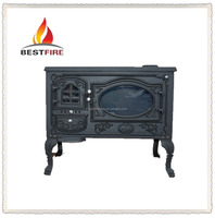 Modern free standing cast iron fireplace china household indoor stove for sale