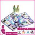 cotton fabrics towels for baby child digital print hand towel home textile