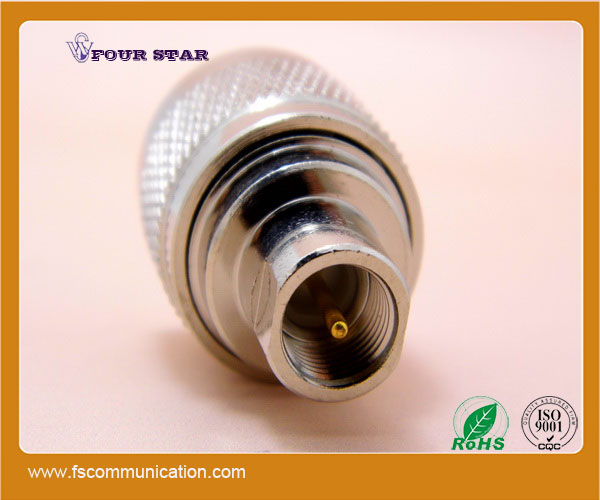 FME to UHF connector plug male coaxial adapter