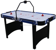 Indoor Game Air Hockey Tables With Bridge Electronic Scoring Power Ice Hockey Table