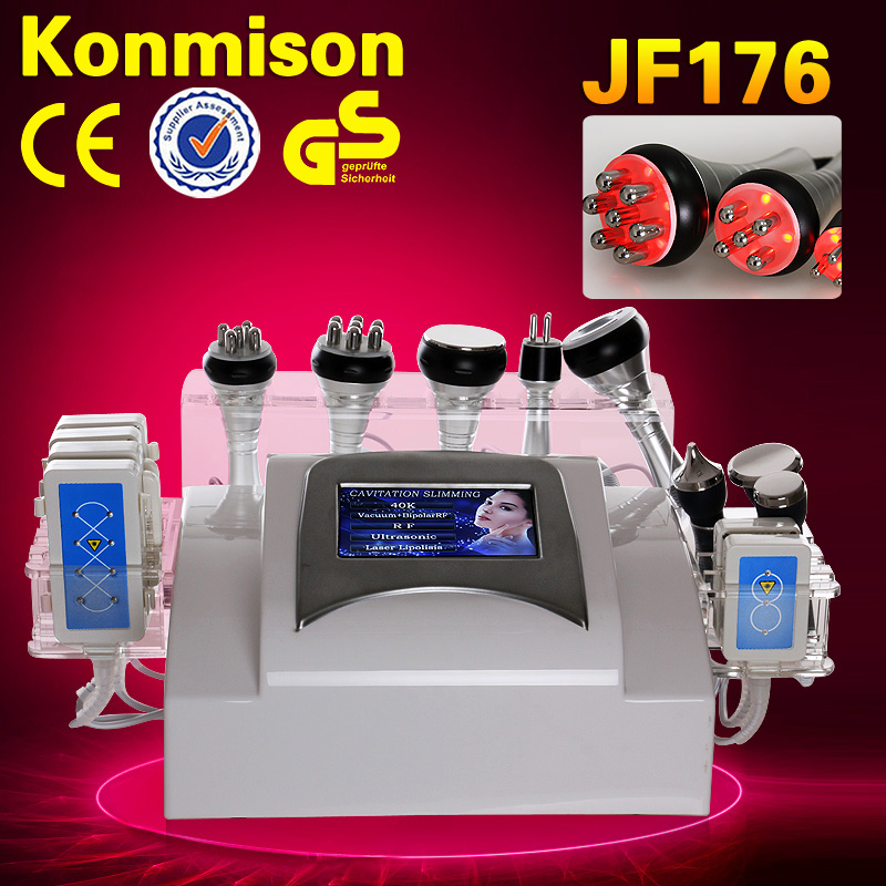CE approved slim fit kim 8 new cavitation rf vacuum slimming machine