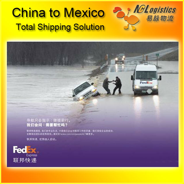 international express courier service to Mexico