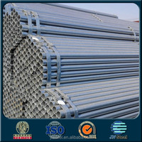 Manufacturing 48mm scaffolding galvanized steel pipes for construction materials