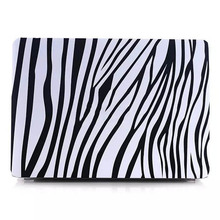 Black white cover for macbook air pc hard case,for macbook pro retina pc hard case