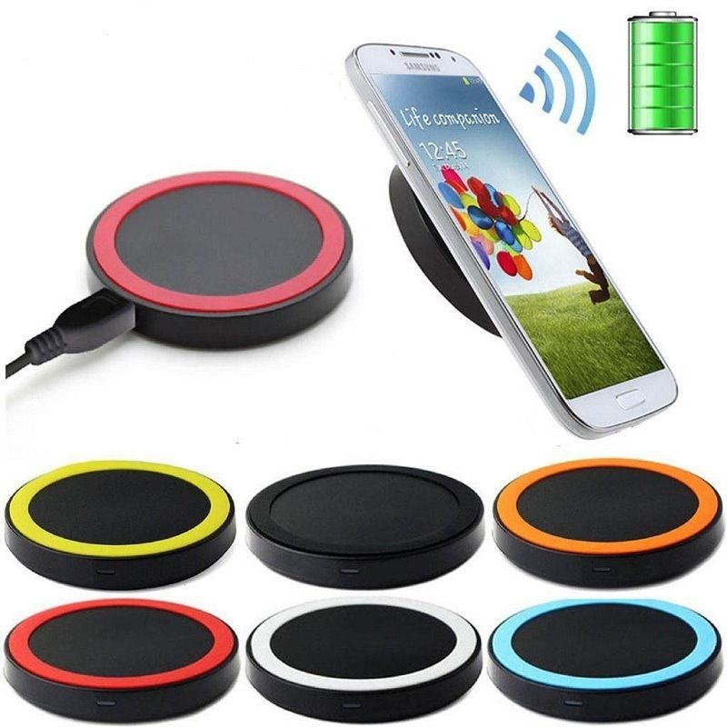 2016 Wholesale OEM Wireless Charger Custom Gift Mobile Phone Cheap Qi Wireless Charging for iPhone Samsung HTC Nokia