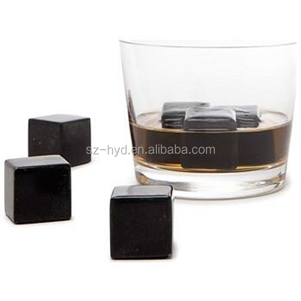 New Products 2017 Nontoxic and Recycle Natural Basalt Whiskey Rock Ice Cube