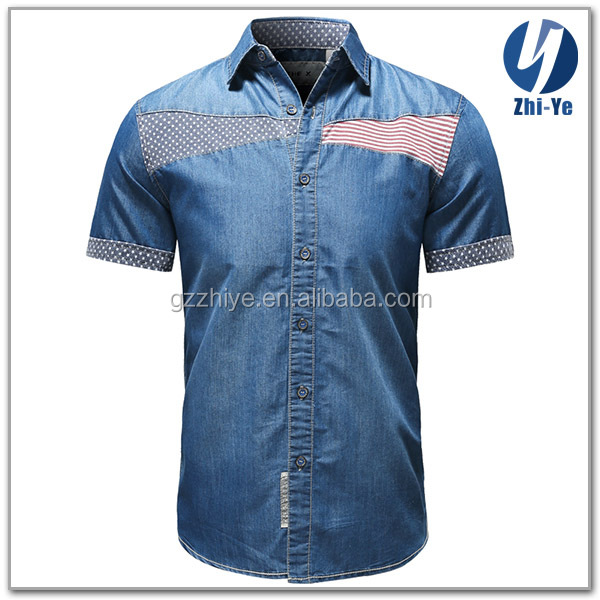 in stock items brand new casual jeans shirt
