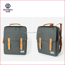 China Import Hipster Soft Canvas Backpack School Bags For Teenagers
