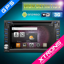 "TD610A-6.2"" Two Din Car DVD Player with Android OS"
