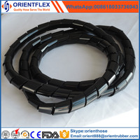 plastic spiral hose guard/ hydraulic hose protection/pipe sleeve wrap