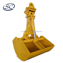 hydraulic clamshell grab bucket for excavator