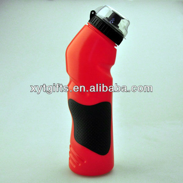 Reusable Food Safety Sport Water Bottle 750ml Red Color