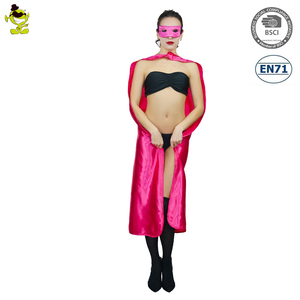 Halloween sexy rose red cape adults woman party costumes