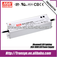Meanwell HLG-100H-24 (100W 24V 4A) 100W 24V Single Output Switching 100W Constant Voltage Dimmable LED Driver