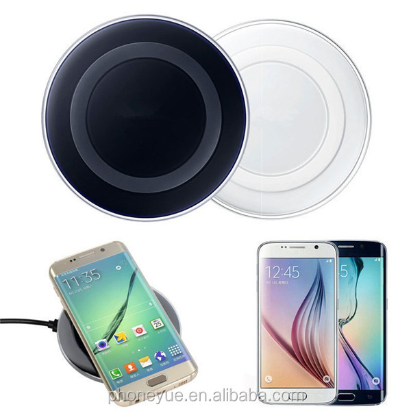 100% original fast charging pad universal qi wireless charger for samsung s6