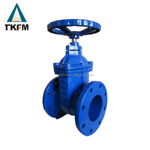 TKFM manufacture resilient seal handweheel gate valve 500 mm for widely distributors