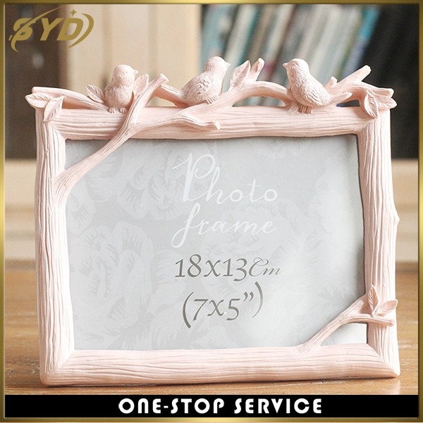 Creative design Art display wood grain picture frame
