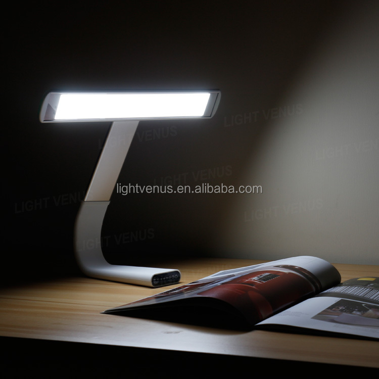 touch switch Eye-caring Lamp USB Rechargeable stady reading LED Desk Lamp
