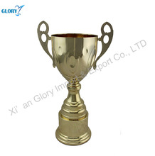 New Design Gold Metal Trophy Cups For Sports