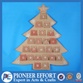 Linen Christmas Tree Advent Calendar